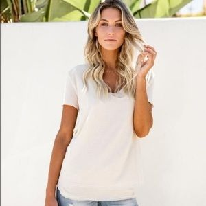 Double The Fun Knit Layer Top
